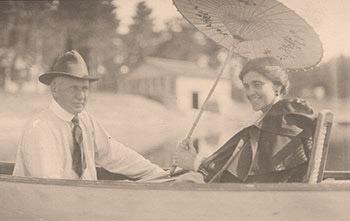 Charles and Frances Weyerhaeuser 1899