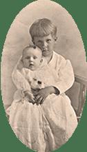 Sarah Maud as a baby
