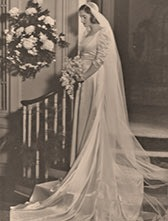 Mary Musser's wedding day