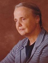 Laura Jane Musser as an older woman
